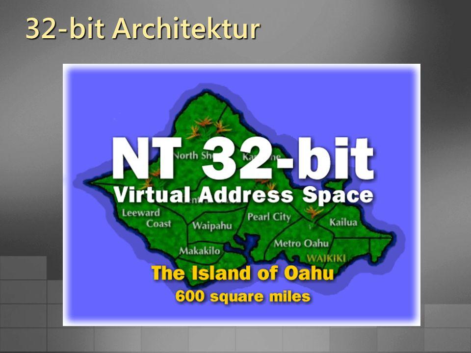 32-bit Architektur