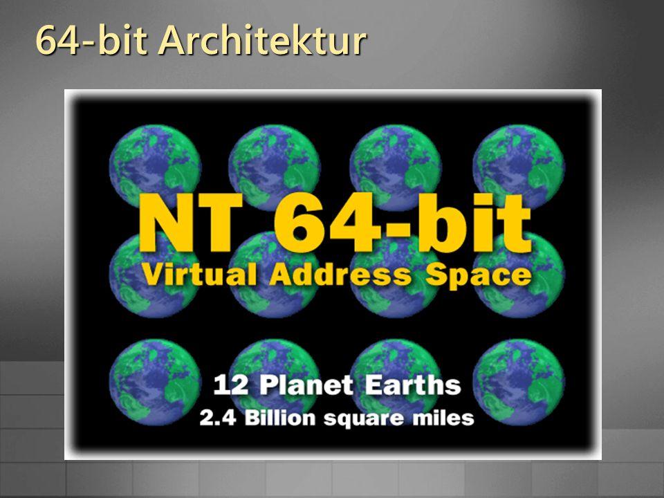 64-bit Architektur