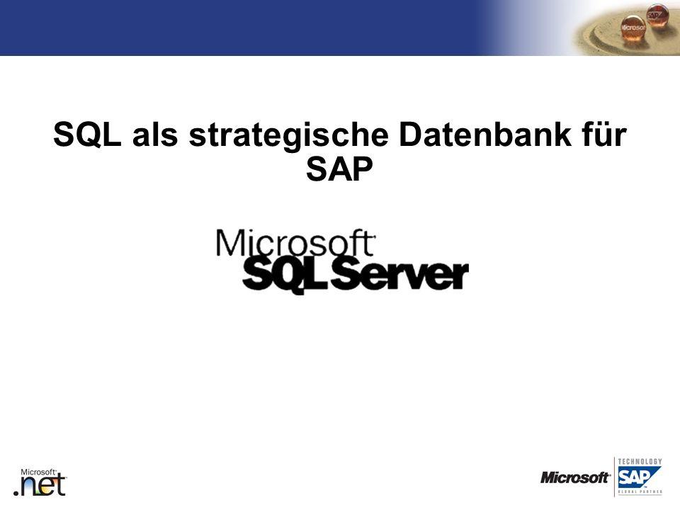 TM SQL als strategische Datenbank für SAP Übergabe an Martin
