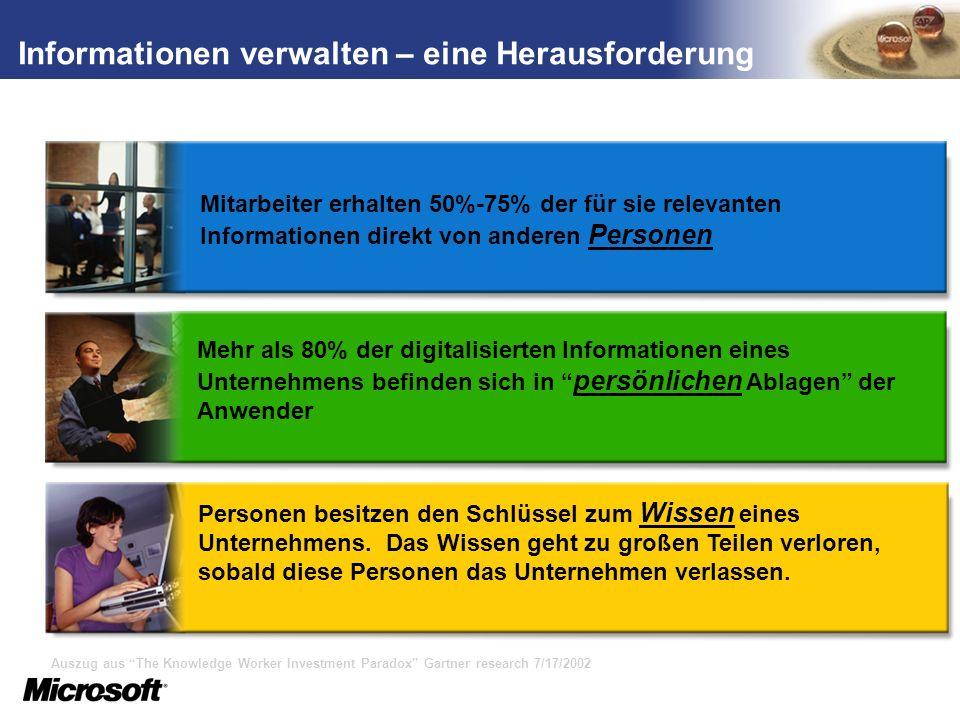 TM SharePoint als zentraler Einstiegspunkt SAP System I SAP System II Vorteile: Einfache Benutzerführung Eine Sicht auf Daten aus mehreren SAP-Systemen Rollenbasierter Zugriff Single-Sign-On 24/7 Zugriff auf SAP-Daten und Geschäftsprozesse Ablage von SAP Reports im SPS Dokumenten- Repository Zentrale Administration iNet.Integrator for SAP