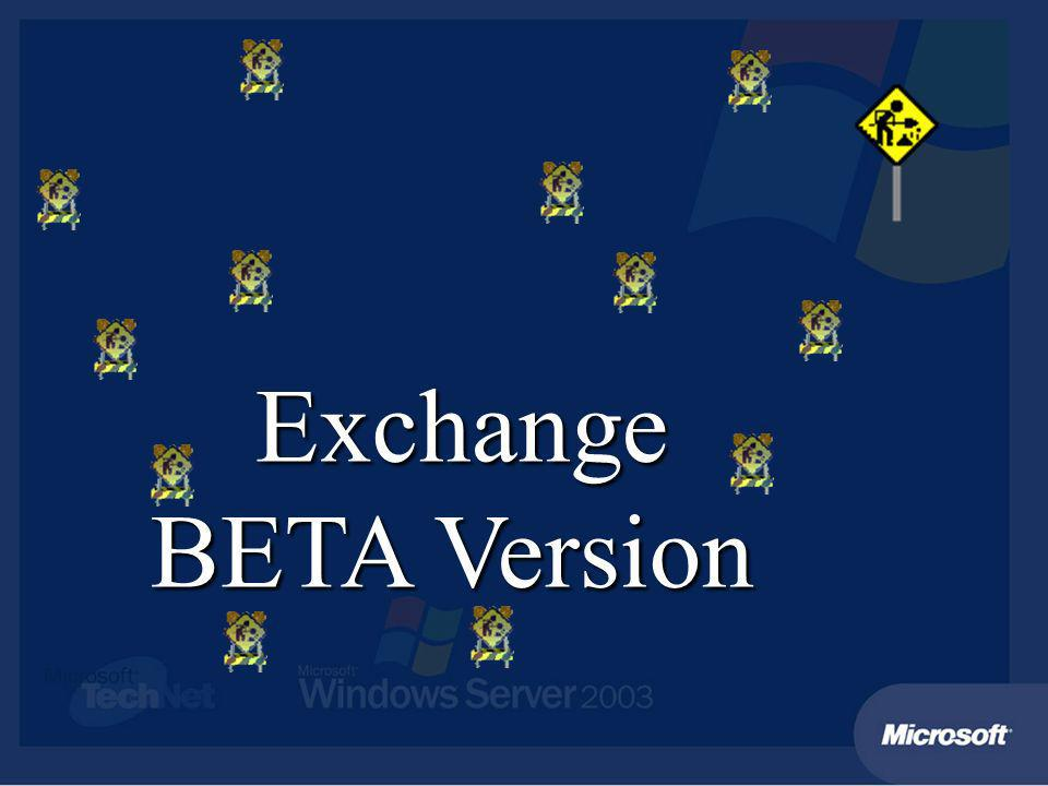 Upgrade auf Exchange 2003 Upgrade In Place: Exchange2000/Windows 2000 Exchange 2003/Windows 2000 Windows 2003 Server Upgrade In Place: Exchange2000/Windows 2000 Exchange 2003/Windows 2000 Windows 2003 Server Exchange 5.5/NT4 Verschieben auf neuen Exchange 2003/Windows 2003 Server Exchange 5.5/NT4 Verschieben auf neuen Exchange 2003/Windows 2003 Server Empfehlung: Move Mailbox / Replikation Ordner Empfehlung: Move Mailbox / Replikation Ordner Swing Server für individuelle Upgrades Swing Server für individuelle Upgrades Exchange 5.5, 2000, 2003 Windows 2000 Domain Controller or Windows 2003 Domain Controller Windows 2000 Server Windows 2003 Server
