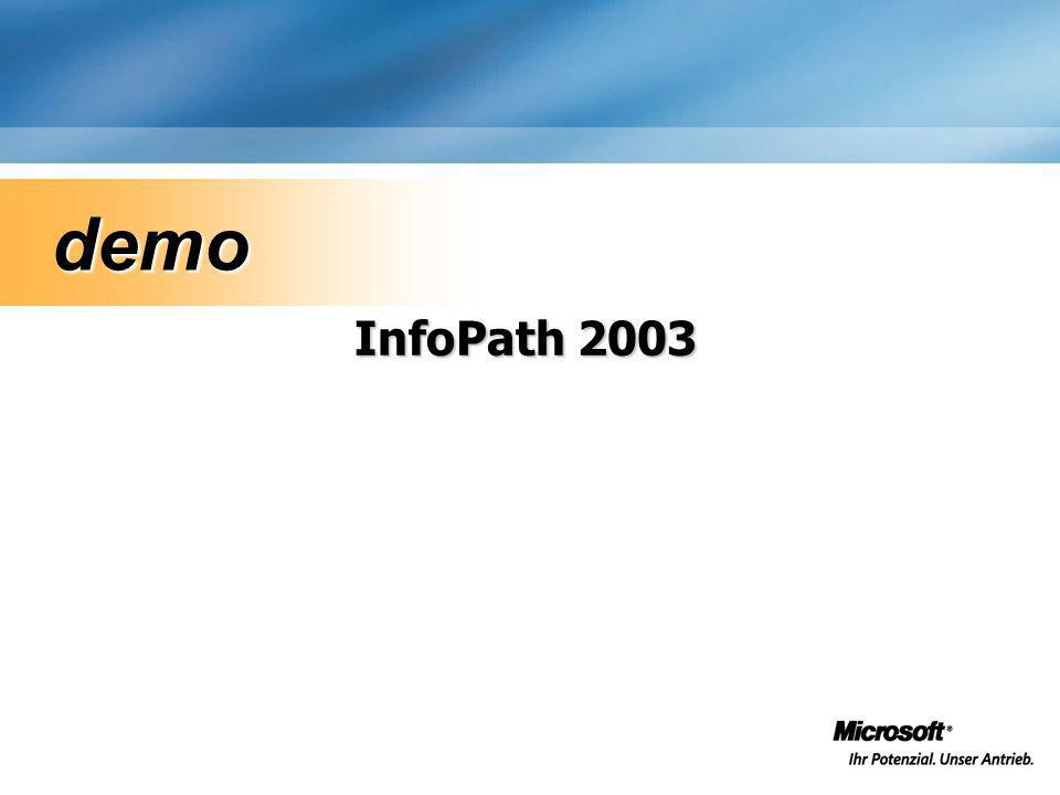 Web Parts & Entwickler ASP.NET Server Controls –Volle Unterstützung des Microsoft®.NET Frameworks (ADO.NET Web Services etc.) Microsoft® Visual Studio.NET –IntelliSense, Debuggen, Quellcodeverwaltung etc.