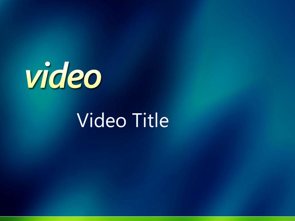 Customer Name Speaker Name Speaker Title Microsoft Corporation Speaker Name Speaker Title Microsoft Corporation