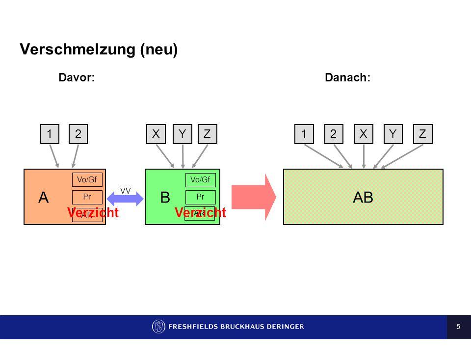 4 Vereinfachte Umgründungen im Konzern (2) Wesentliche Vereinfachungen: Bericht des Aufsichtsrats Möglichkeit des Verzichts auf den Bericht des Aufsic