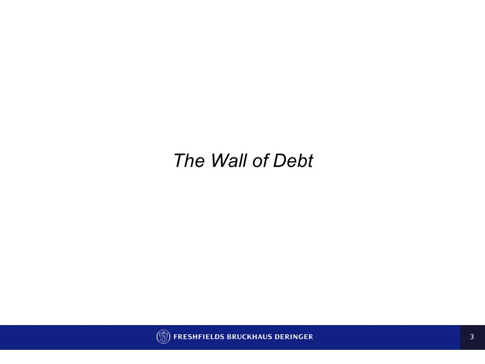 3 The Wall of Debt