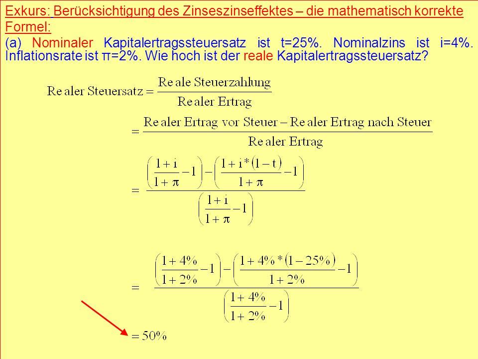 © RAINER MAURER, Pforzheim - 27 - Prof. Dr. Rainer Maure - 27 - Prof. Dr. Rainer Maurer Exkurs: Berücksichtigung des Zinseszinseffektes – die mathemat