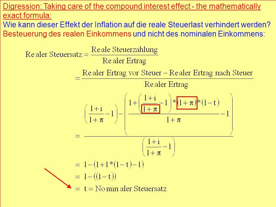 © RAINER MAURER, Pforzheim - 32 - Prof. Dr. Rainer Maure - 32 - Prof. Dr. Rainer Maurer Digression: Taking care of the compound interest effect - the