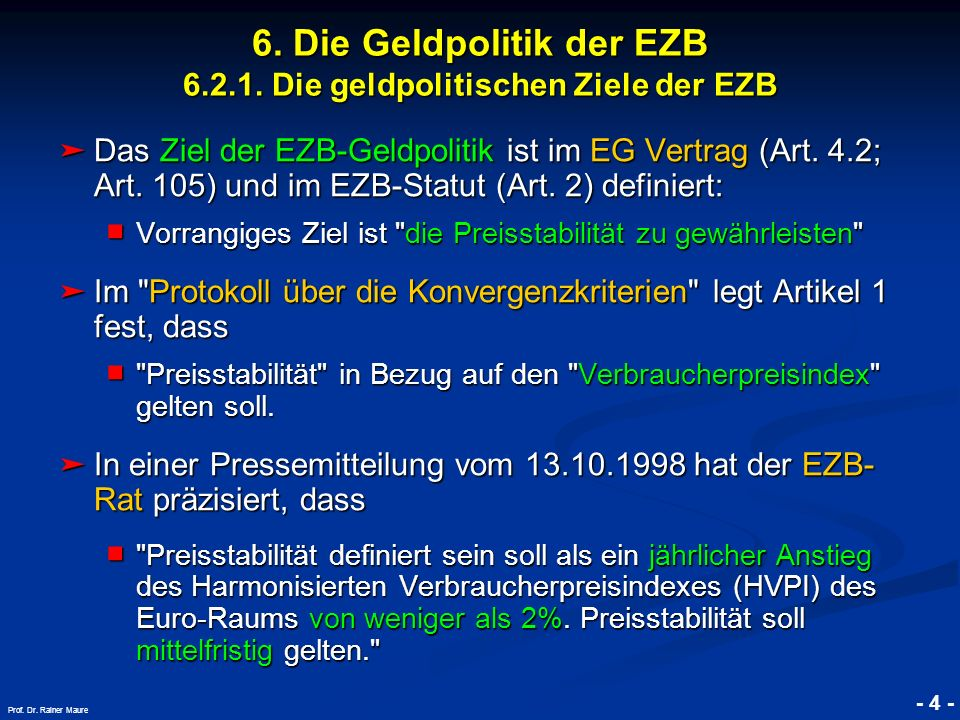 © RAINER MAURER, Pforzheim - 5 - Prof.Dr. Rainer Maure 6.