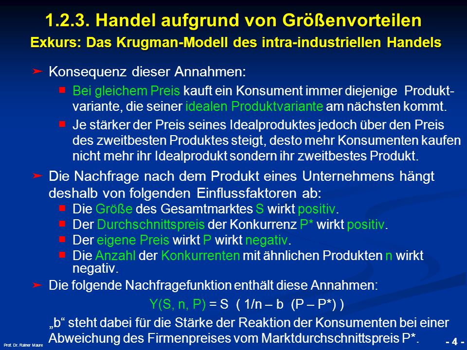 © RAINER MAURER, Pforzheim - 5 - Prof.Dr.