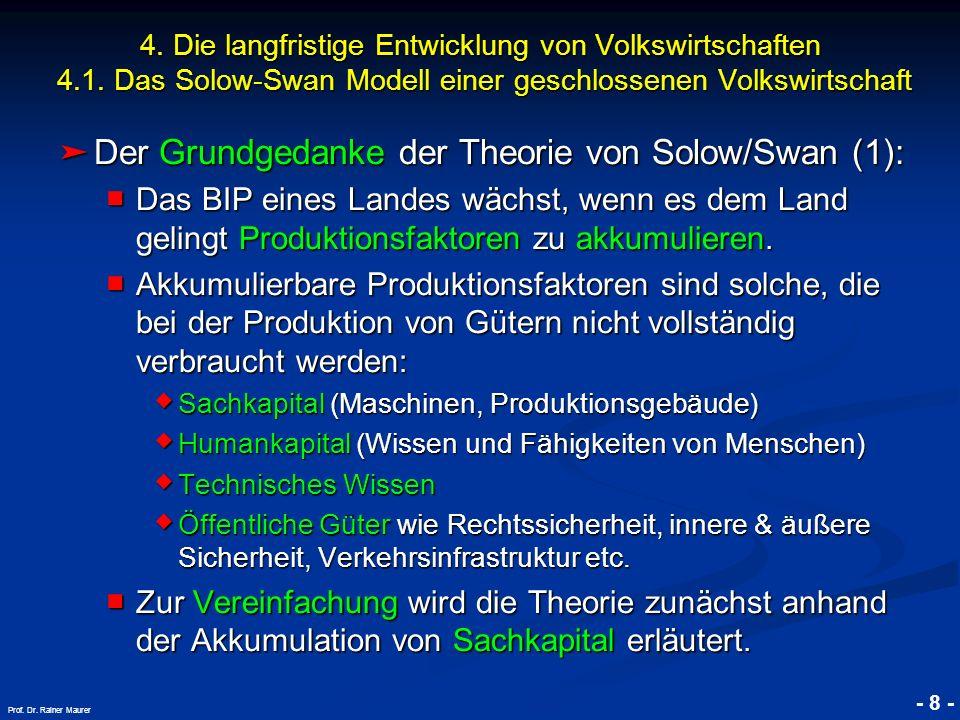 © RAINER MAURER, Pforzheim - 29 - Prof.Dr. Rainer Maurer Y K 4.