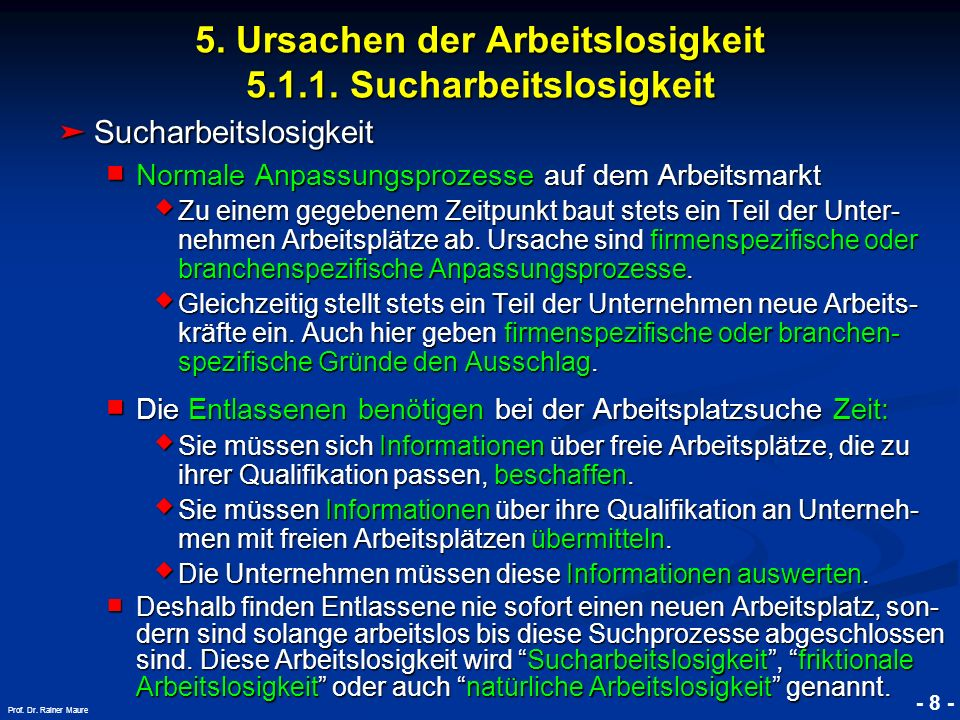 © RAINER MAURER, Pforzheim - 59 - Prof.Dr. Rainer Maure 5.