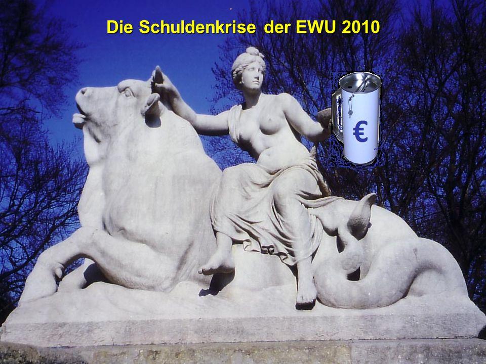 © RAINER MAURER, Pforzheim - 2 - Prof. Dr. Rainer Maure Die Schuldenkrise der EWU 2010