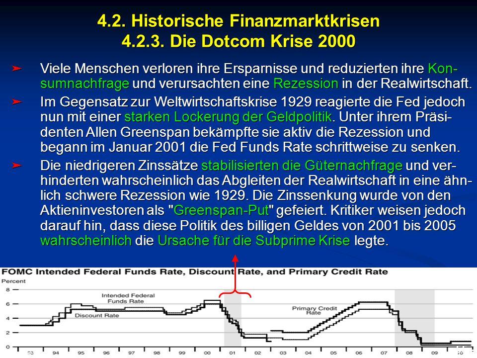 © RAINER MAURER, Pforzheim 4.2. Historische Finanzmarktkrisen 4.2.3. Die Dotcom Krise 2000 - 55 - Prof. Dr. Rainer Maure Viele Menschen verloren ihre