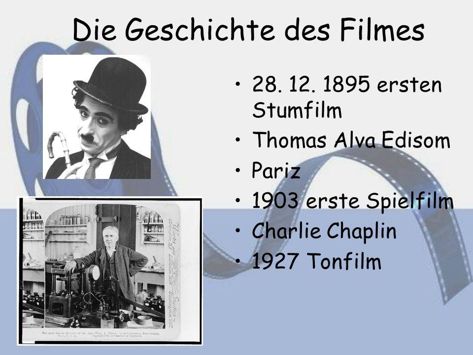 Die Geschichte des Filmes 28. 12.