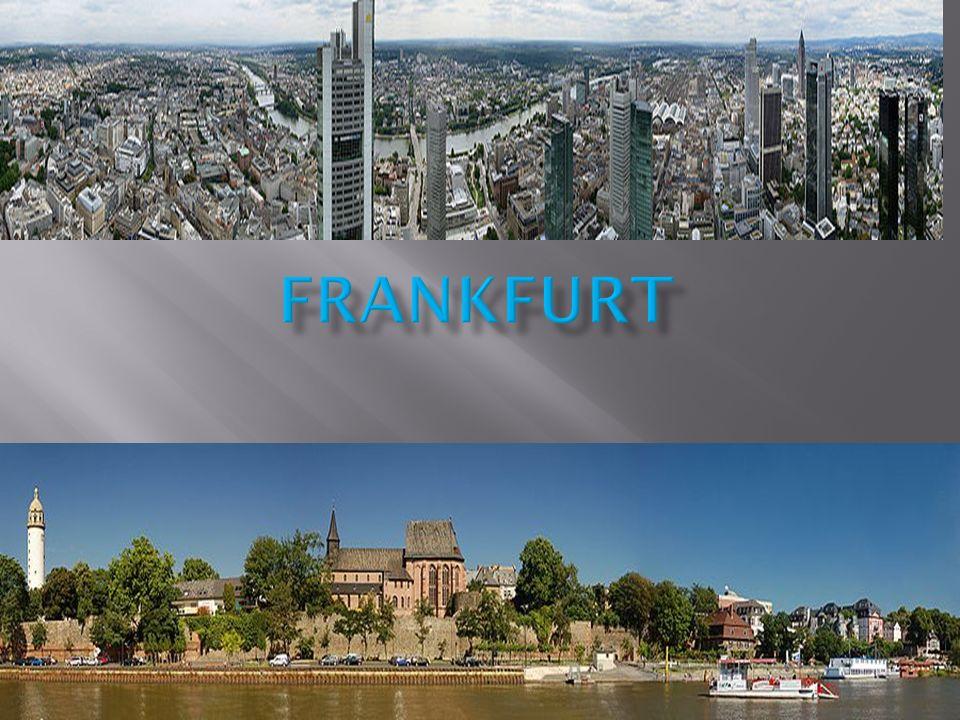Frankfurt am Main ist mit über 664.000 Einwohnern die größte Stadt Hessens und nach Berlin, Hamburg, München und Köln die fünftgrößte Deutschlands.