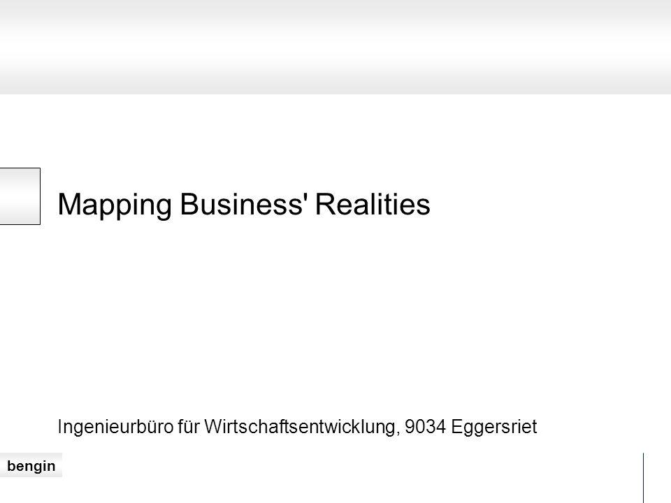 bengin Mapping Business Realities Ingenieurbüro für Wirtschaftsentwicklung, 9034 Eggersriet