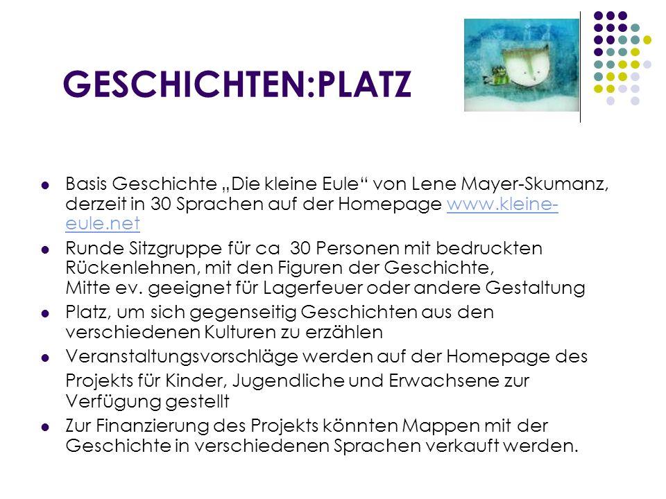 RAUM FÜR DIALOG UND GEBET Boden Steinmosaik der Erde aus Sicht des Nordpols Runde Holzgittersschale aus Osttiroler Lärchenholz z.B.