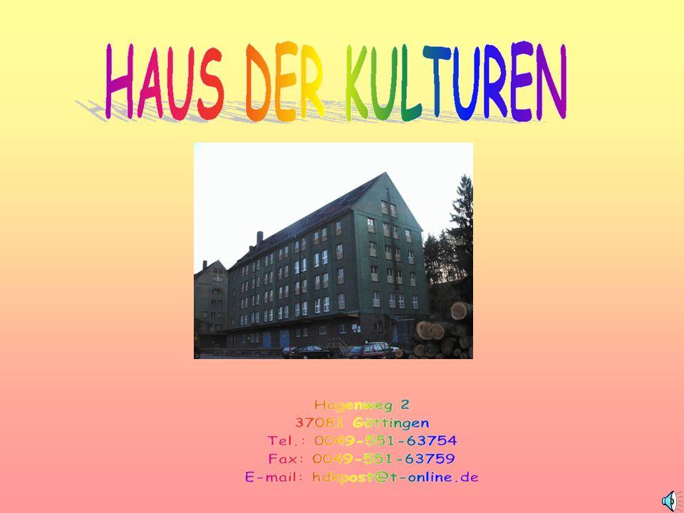 PROJEKTE Internationales Café Internationale Bibliothek Deutschkurse Fortbildungen Kulturveranstaltungen Jugendprojekte