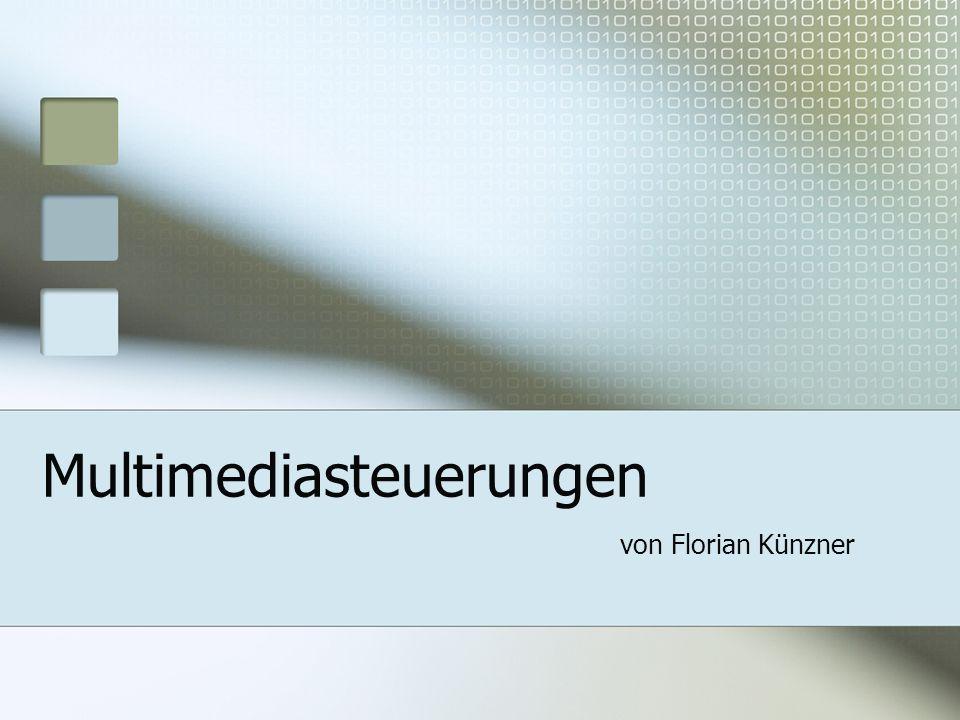 Multimediasteuerungen von Florian Künzner