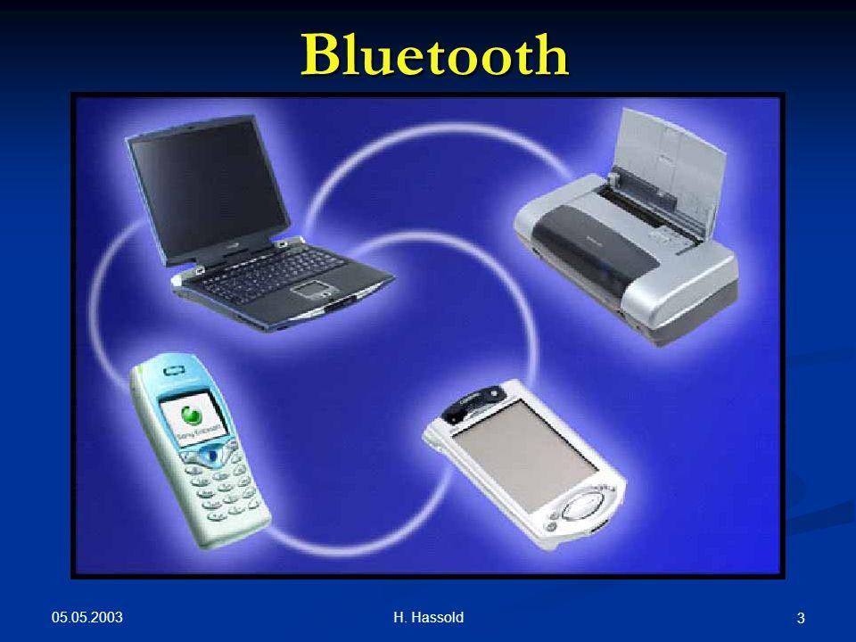 05.05.2003 H. Hassold 14 Bluetooth