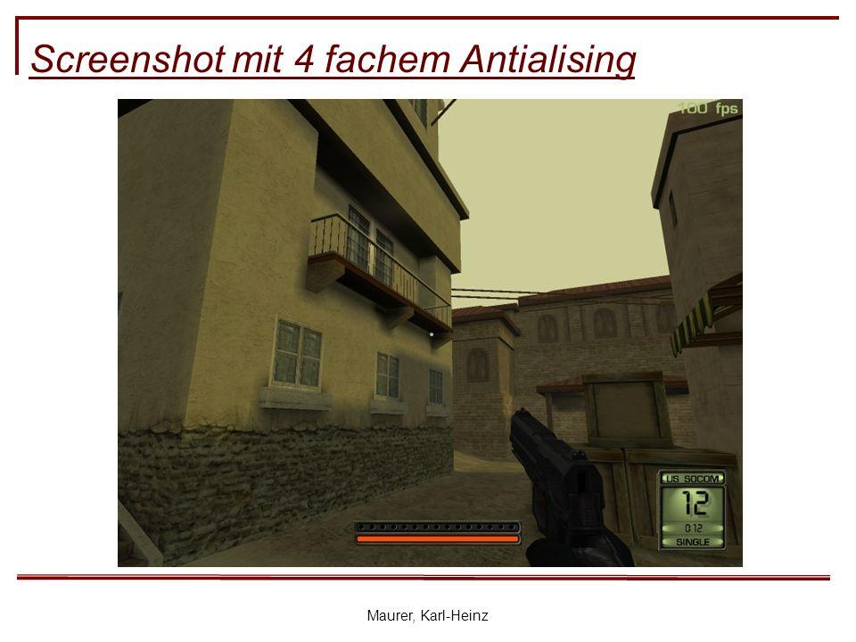 Maurer, Karl-Heinz Screenshot mit 4 fachem Antialising