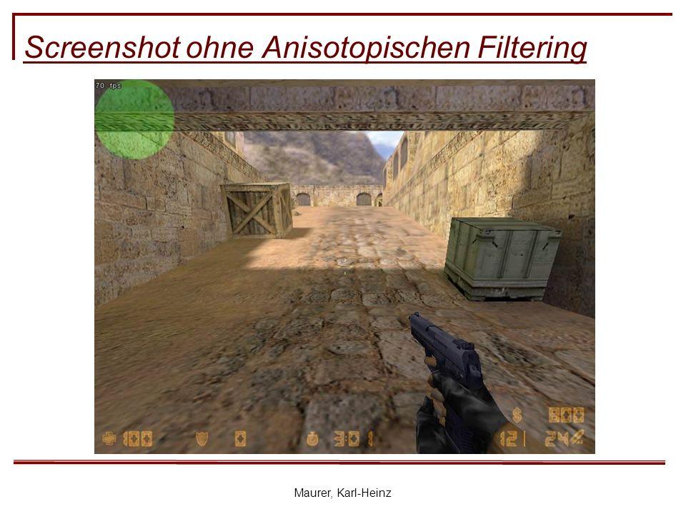 Maurer, Karl-Heinz Screenshot ohne Anisotopischen Filtering