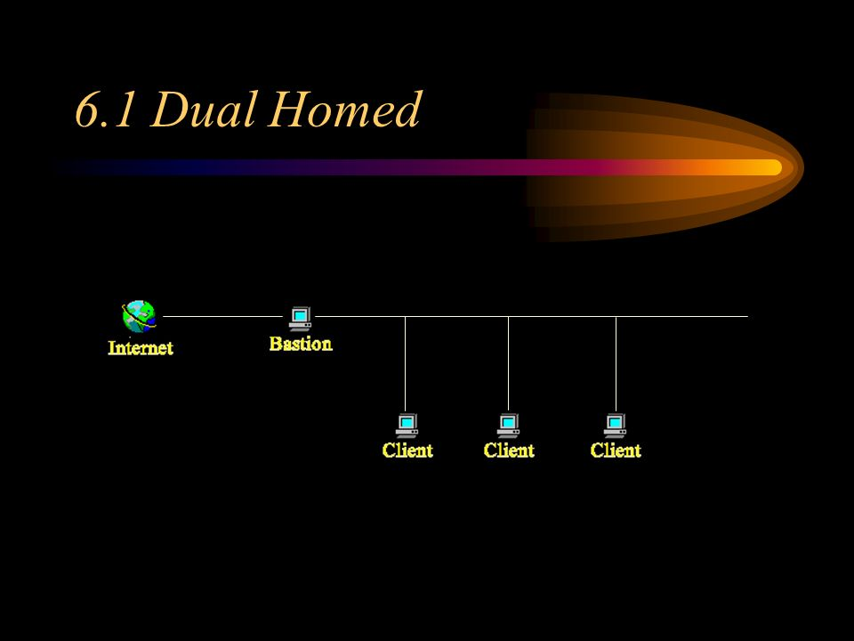 6.1 Dual Homed