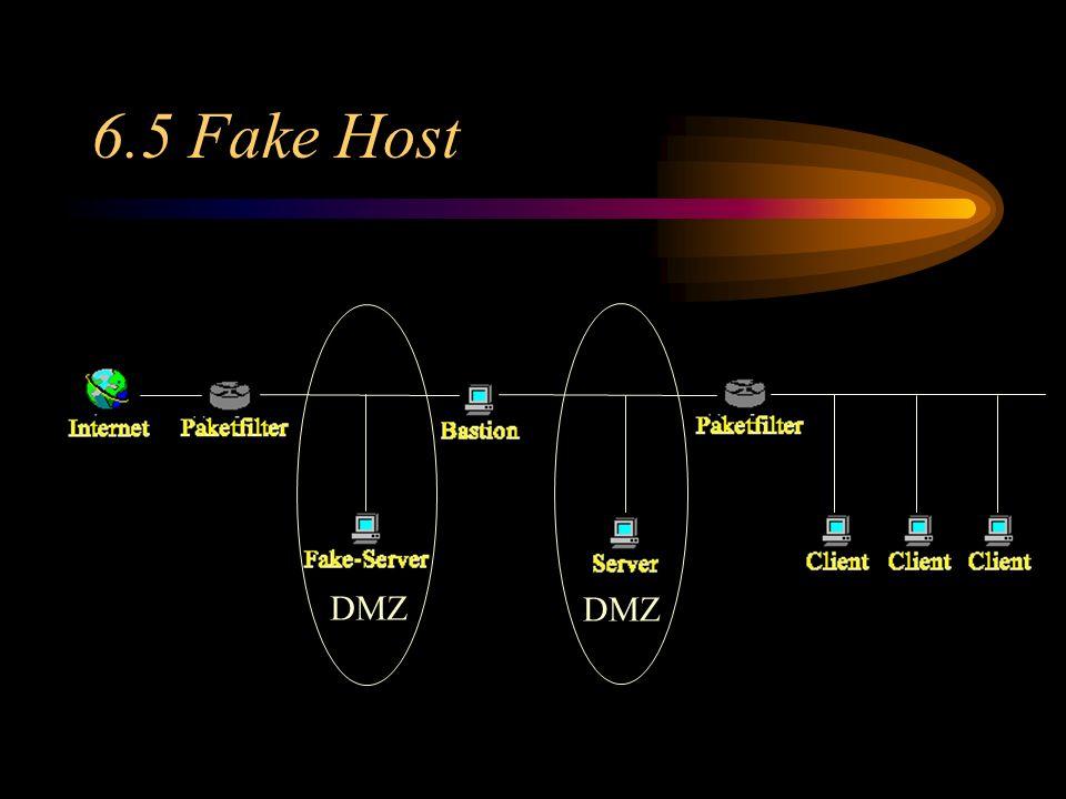 6.5 Fake Host DMZ