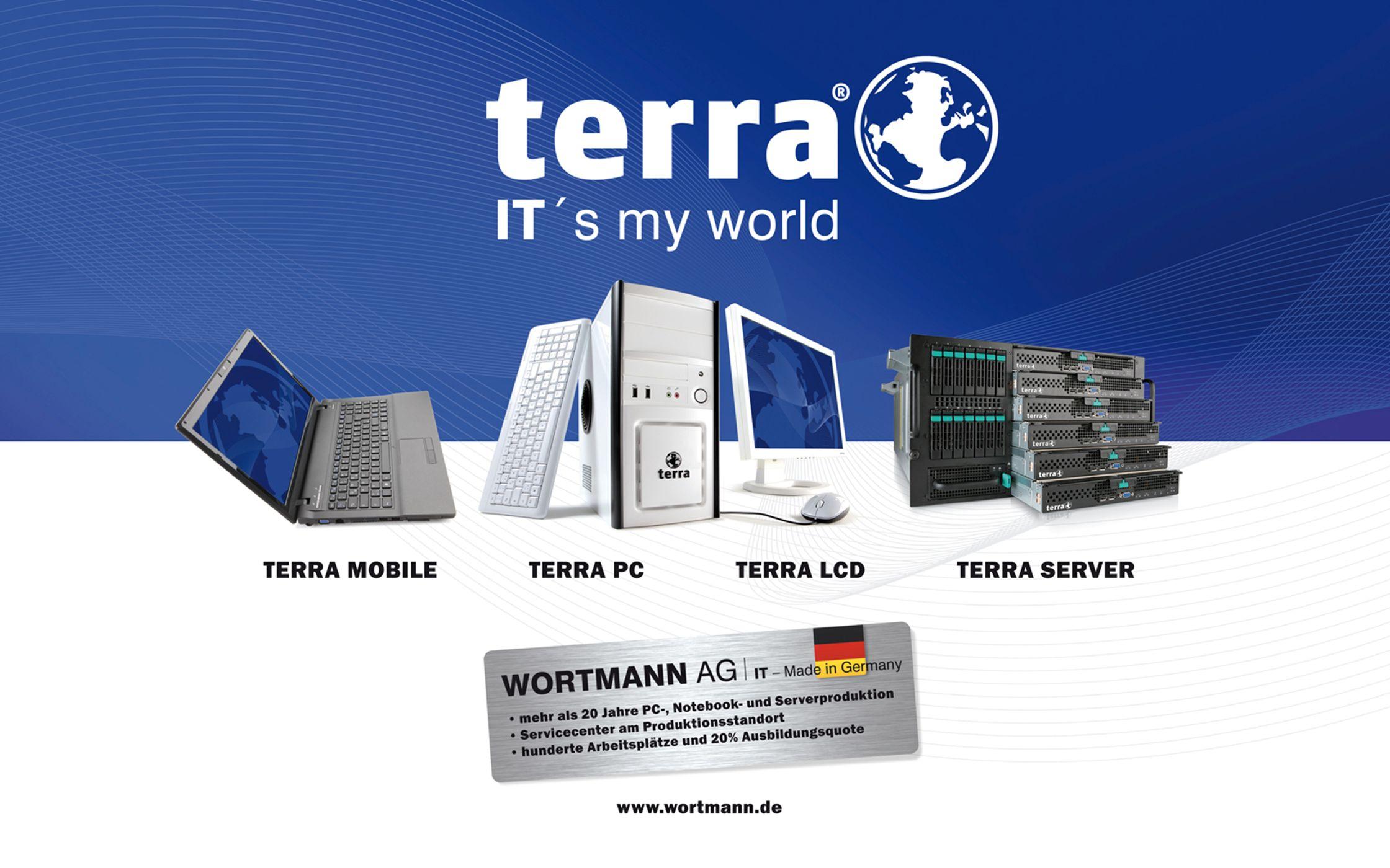 www.wortmann.de » Small Office/Filliale » Small Business » Medium Business » Enterprise TERRA FIREWALL Der IT-Security-Alleskönner MOBILE PC LCD SERVER STORAGE FIREWALL THINCLIENT SERVICE
