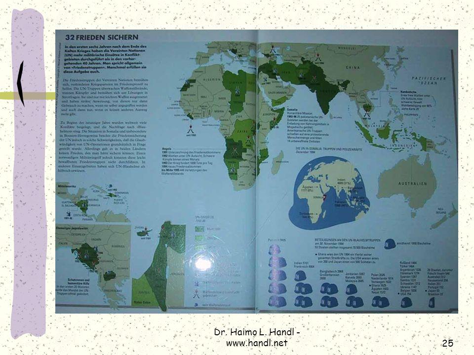Dr. Haimo L. Handl - www.handl.net25