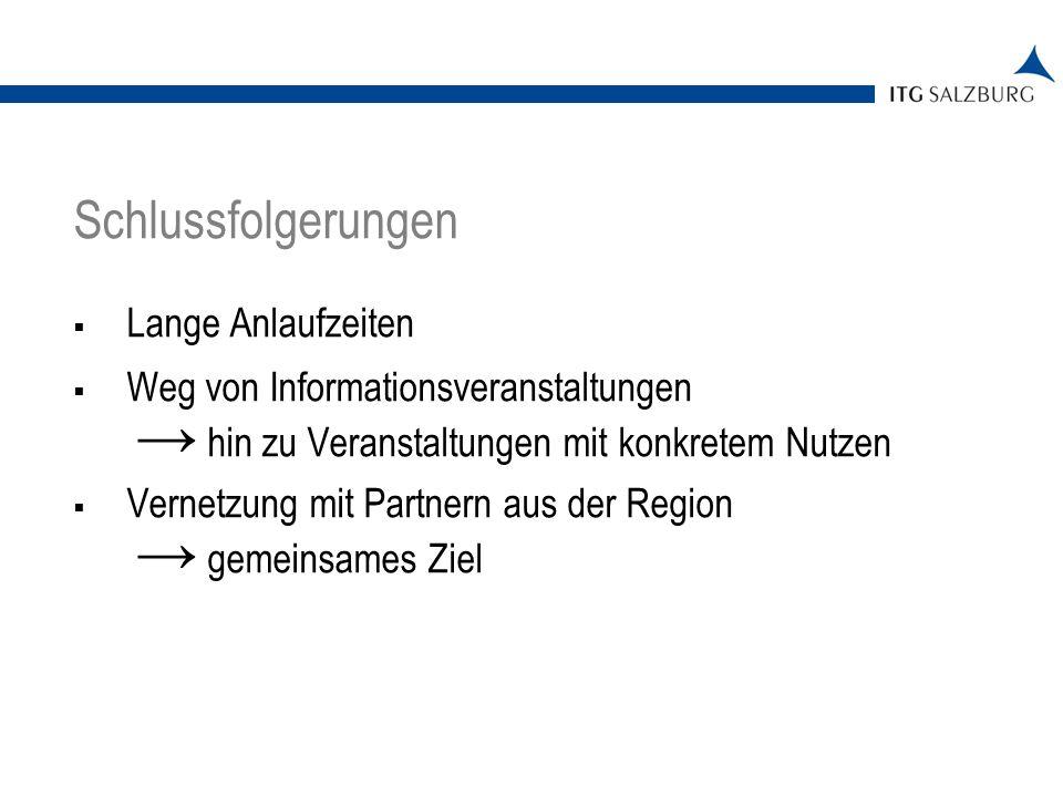 Kontakt ITG Salzburg Mag.Romana Schwab Südtiroler Platz 11 5020 Salzburg Tel.