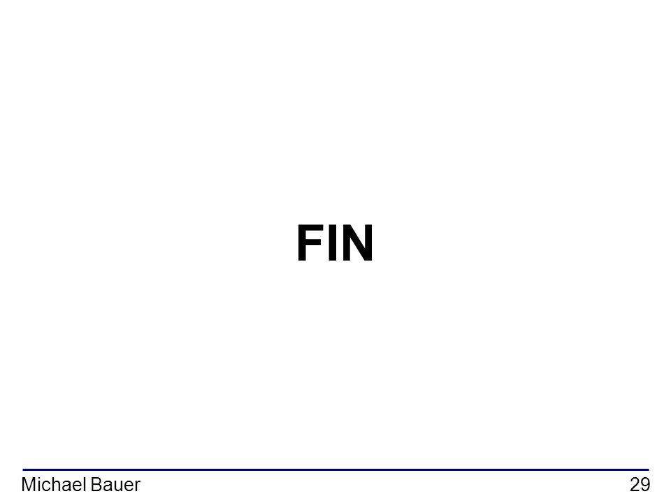 Michael Bauer29 FIN