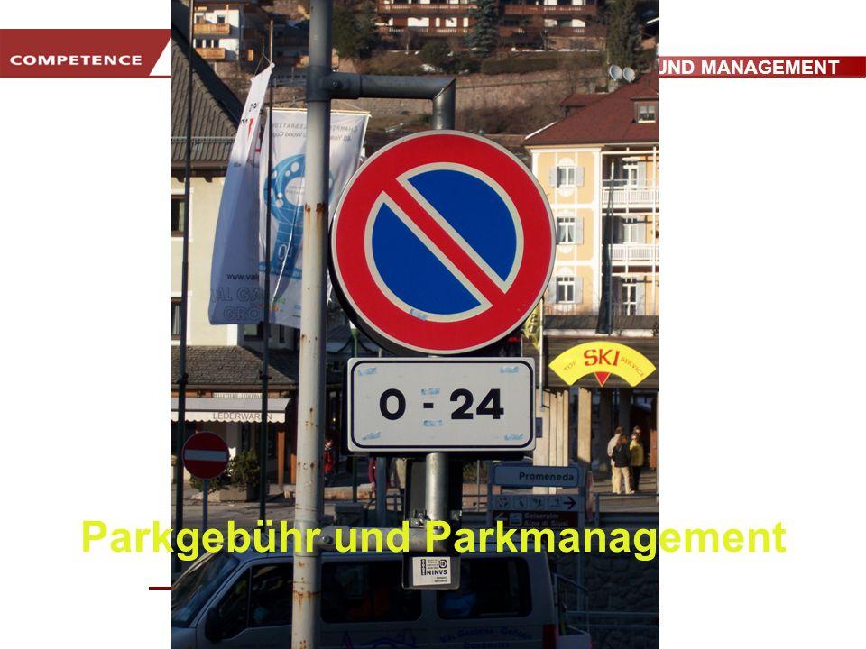 PARKGEBÜHR UND MANAGEMENT www.transportlearning.net Parkgebühr und Parkmanagement