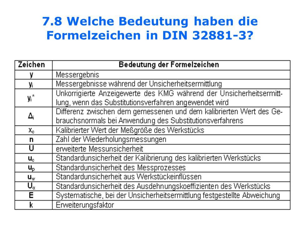 7.8 Welche Bedeutung haben die Formelzeichen in DIN 32881-3?