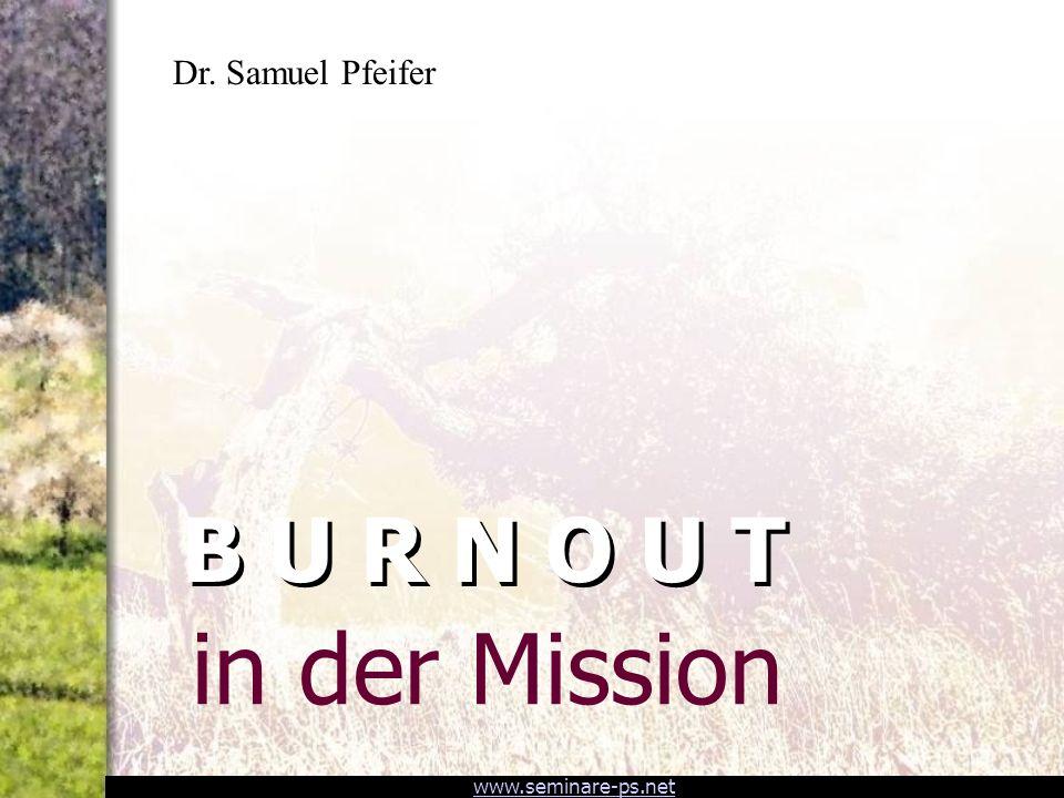www.seminare-ps.net Wie kommuniziert man Burnout.