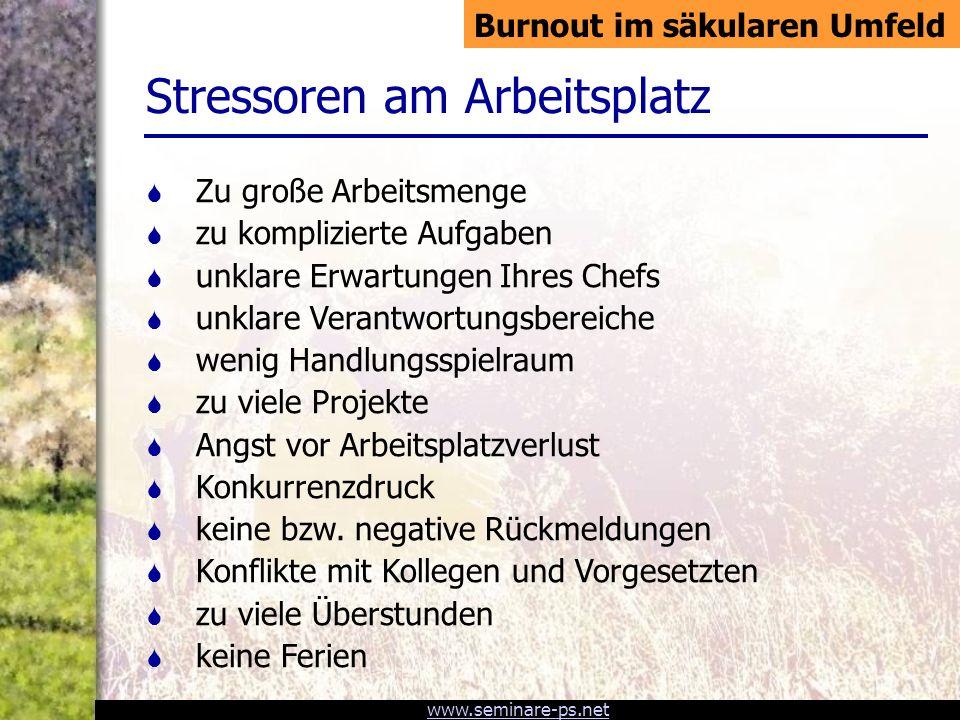 www.seminare-ps.net 1.Informations-Overload 2. Gefühlslabilisierung (Alarm!) 3.