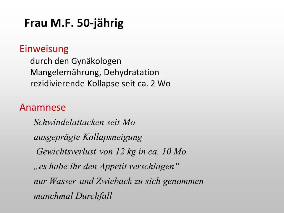 Frau M.F.