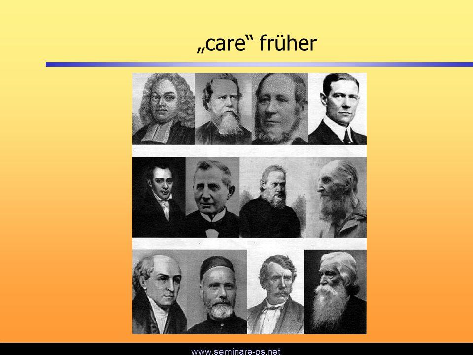 www.seminare-ps.net care heute die Möglichkeiten (Kommunikation, Reisen) eine andere Generation eine hohe Rate frühzeitiger Rückkehrer