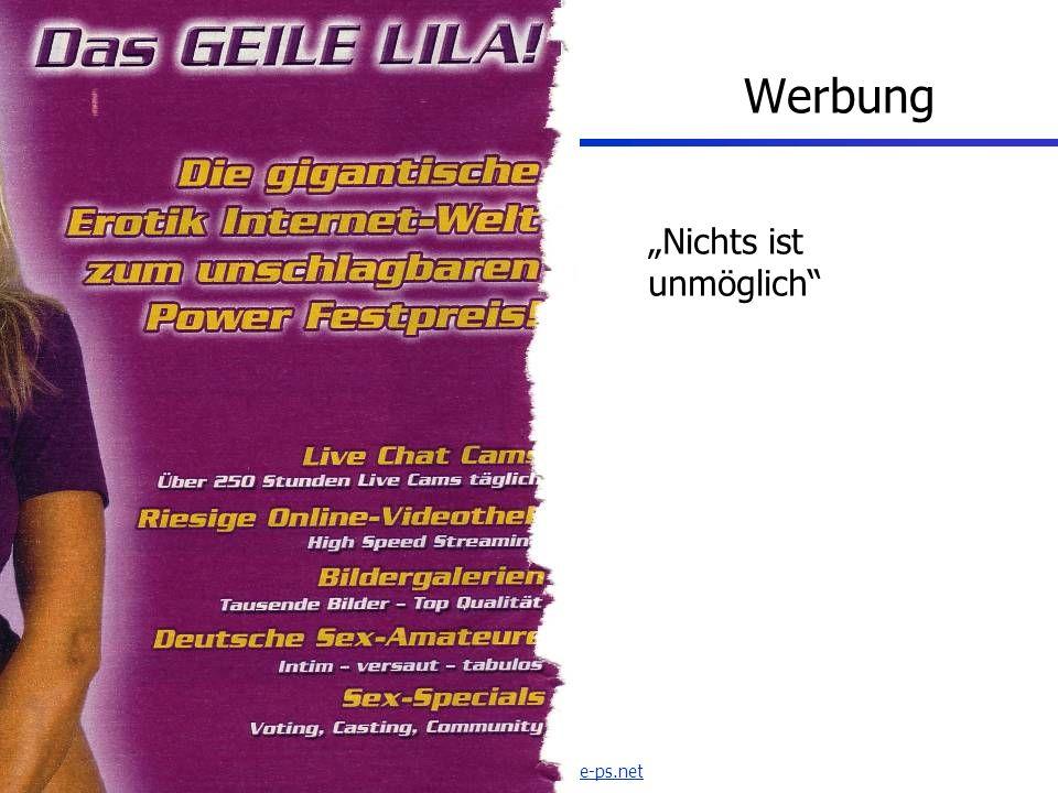 www.seminare-ps.net Werbung Nichts ist unmöglich