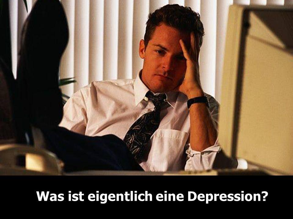 Was ist eigentlich eine Depression?
