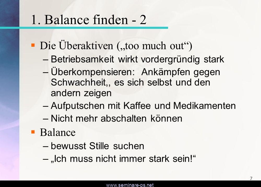 www.seminare-ps.net 8 2.Körpersprache verstehen lernen.