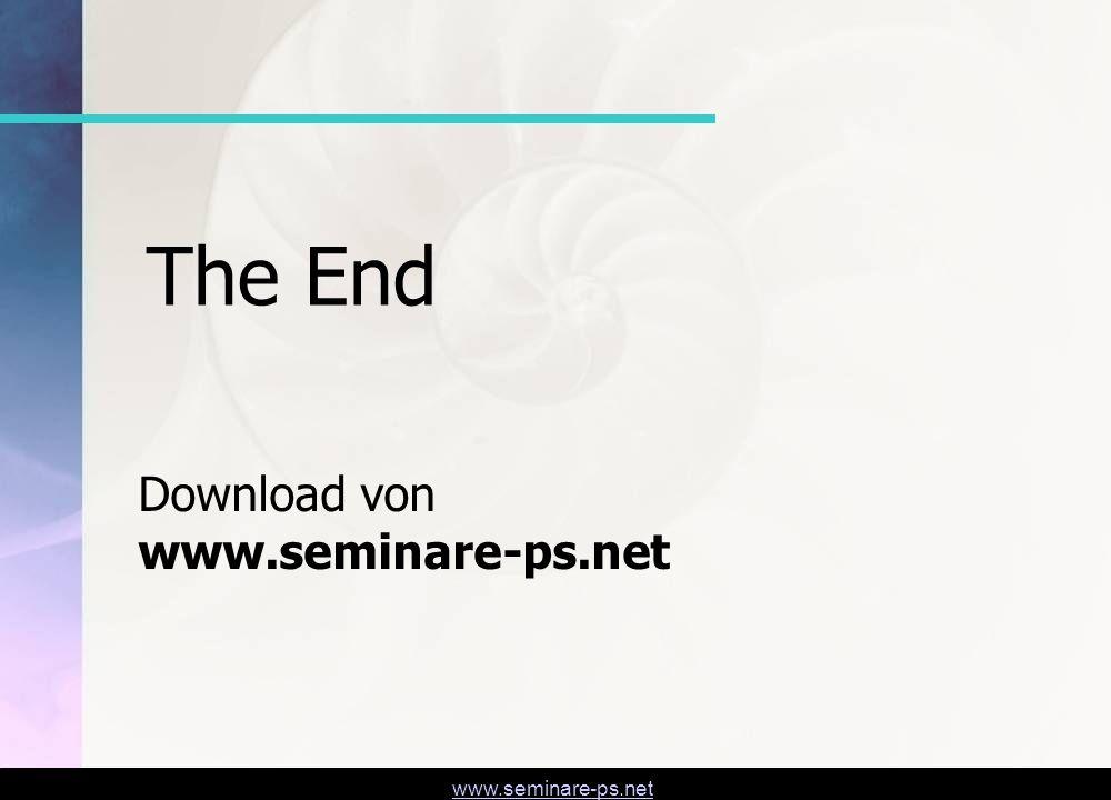 www.seminare-ps.net The End Download von www.seminare-ps.net