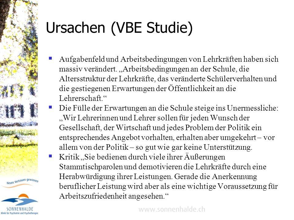 Belastung im Lehrerberuf -Potsdamer Studie ( Prof. Dr. Uwe Schaarschmidt), präsentiert an der Kölner Bildungsmesse didacta 2004: Jeder zweite Lehrer f