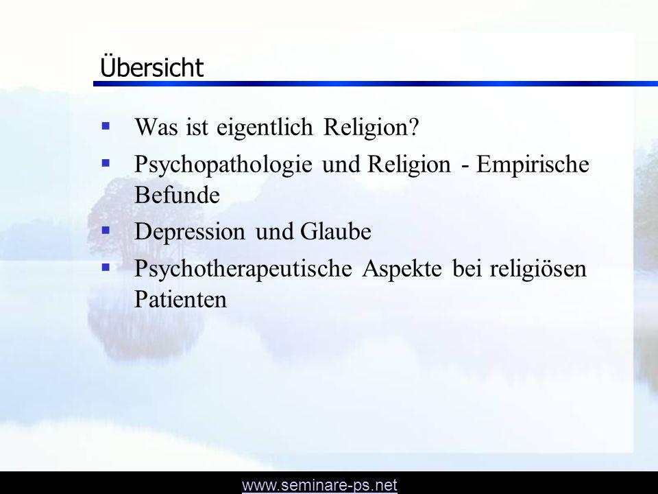 www.seminare-ps.net Woran glauben Menschen? GEO – Jan 2006