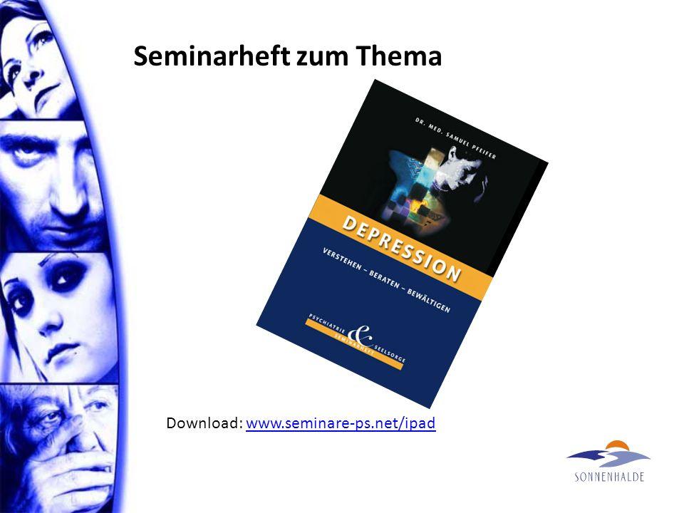 Seminarheft zum Thema Download: www.seminare-ps.net/ipadwww.seminare-ps.net/ipad