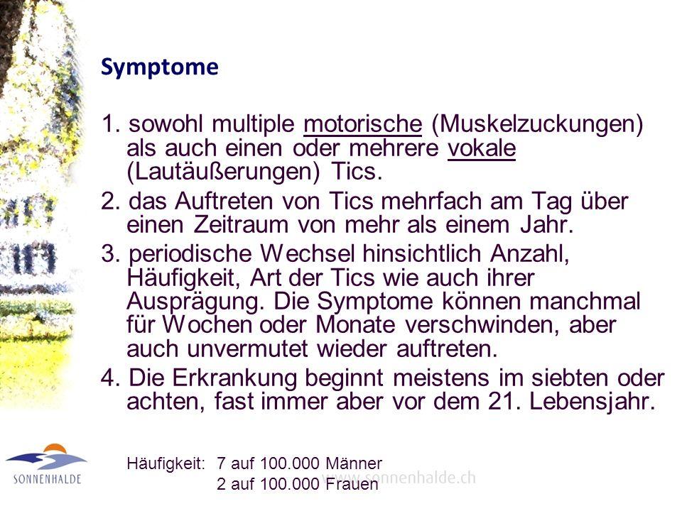 Symptome 1.