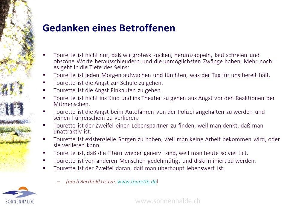 Literatur –Rothenberger A.Wenn Kinder Tics entwickeln.