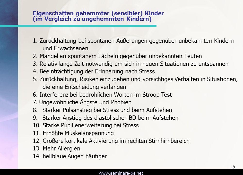 www.seminare-ps.net 29 Leben in der Gegenwart Ermutigung, nicht nur im Negativen der Kindheit zu verharren, sondern in die Bearbeitung der Gegenwart führen.