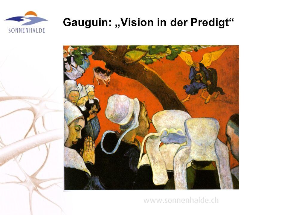 Gauguin: Vision in der Predigt