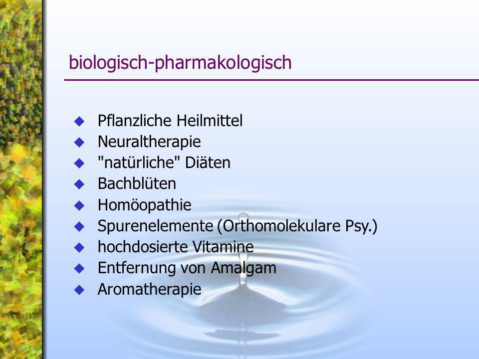 Pflanzliche Heilmittel Neuraltherapie